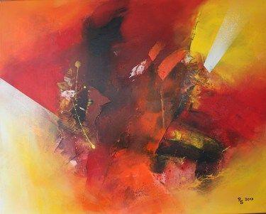 """Saatchi Online Artist Roswitha Schablauer; Painting, """"ANIMATION 2"""" #art"""