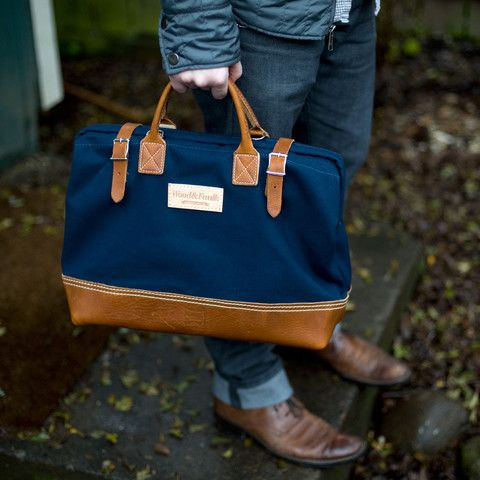 "Wood&Faulk — Wood&Faulk Deluxe 16"" Carpenter Bag"
