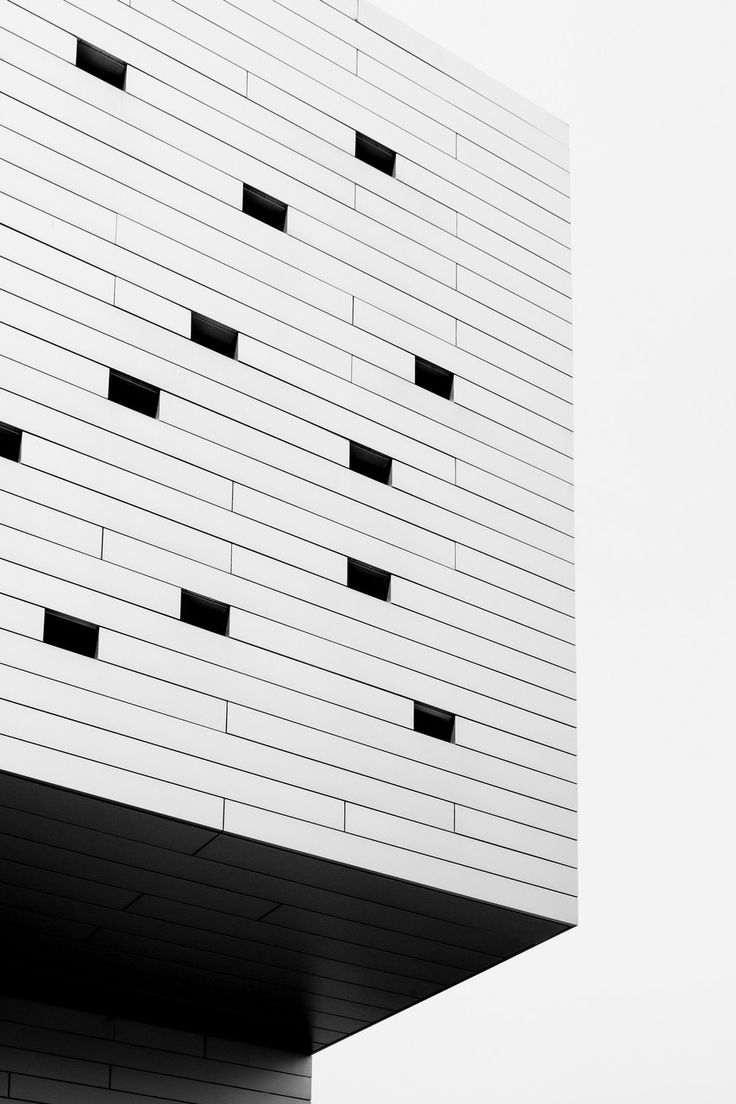 A photographic print by Elizabeth Bull for One Fine Print. #Europe #White #Black #Abstract #Architectural #Landscape #Print #Vertical #Art #Urban #Buildings  #Modernism