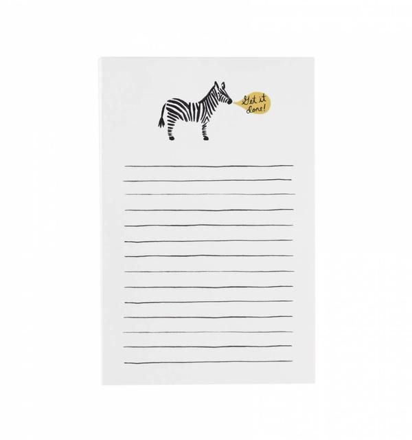Rifle Paper Co. Zebra 'Get it Done' Notepad
