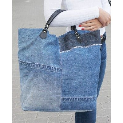 Cool Hobo Patchwork Shopper - Top Handle