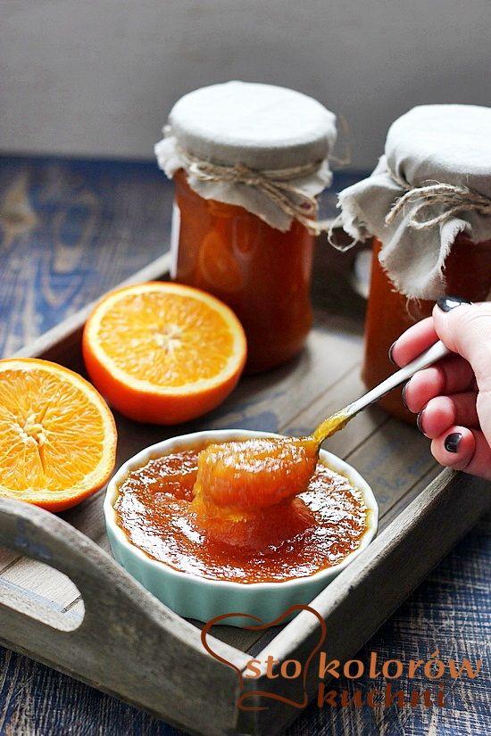 sto kolorów kuchni: Dżem pomarańczowy