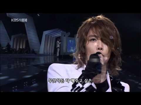 ▶ Park Hyo Shin 박효신 091011_ 눈의 꽃 (snow flower) - YouTube