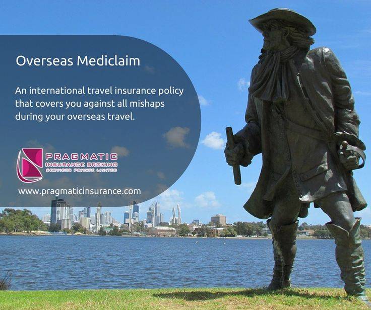 Overseas Mediclaim - An international travel insurance policy that covers you against all mishaps during your overseas travel.  #OverseasMediclaim #Insurance #Policy #InsuranceBrokingServices #InsuranceCompanies #InsuranceHyderabad #PragmaticInsurance