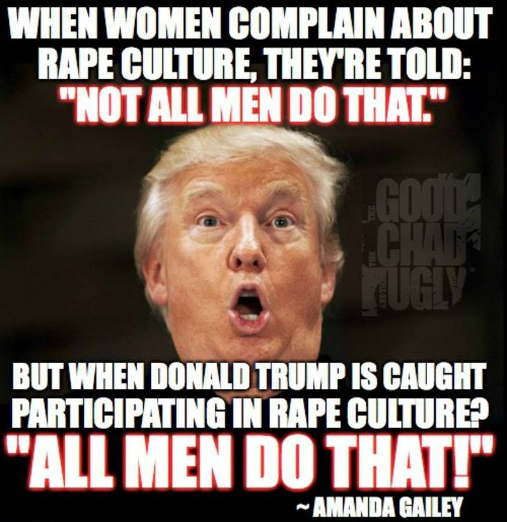 No we don't. Fuck you, Trump.