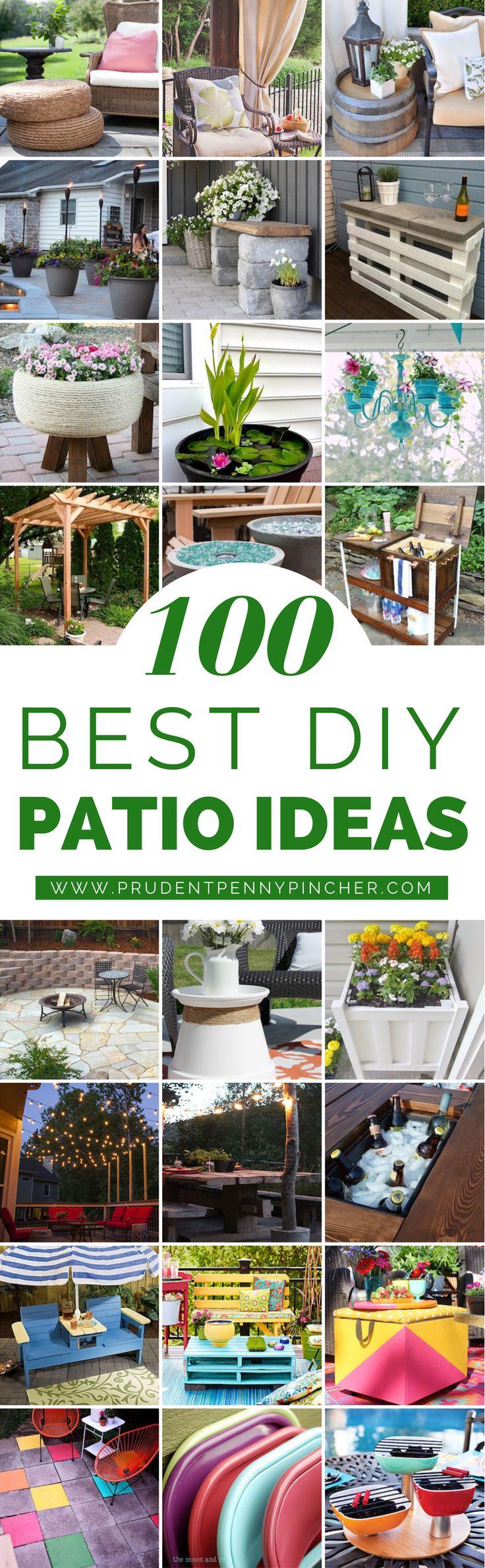 100 Best DIY Outdoor Patio Ideas 68