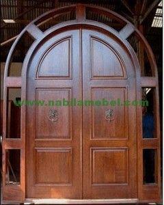 Pintu Jati Minimalis Modern merupakan produk furniture jepara dengan bahan baku kayu jati berkualitas produk mebel jati