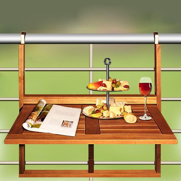 M s de 20 ideas incre bles sobre barandas para balcones en - Mesa colgante para balcon ...