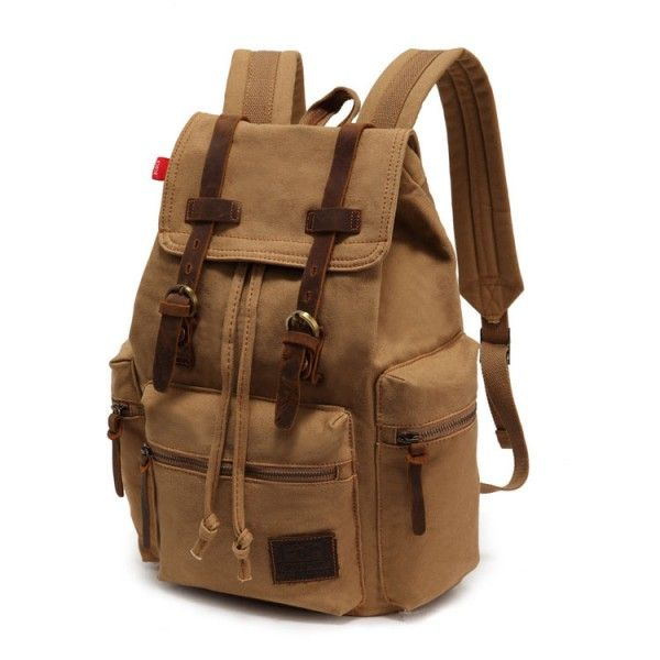 Cool!   Vintage Brown Scrub Canvas Backpack  just $41.99 from ByGoods.com! I can't wait to get it!