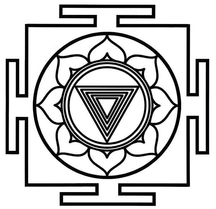 TRATAKAM (focus the eyes) on the yantra of the Great Cosmic Power KALI, together with the uninterrupted utterance of her name (KALI).