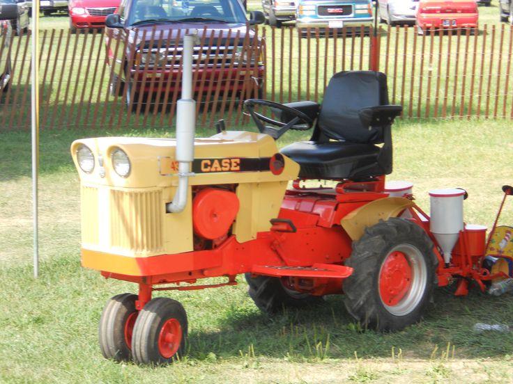 Case Garden Tractor Rad Tractors Pinterest