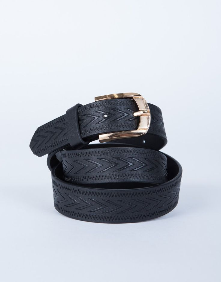 how to make a faux leather belt