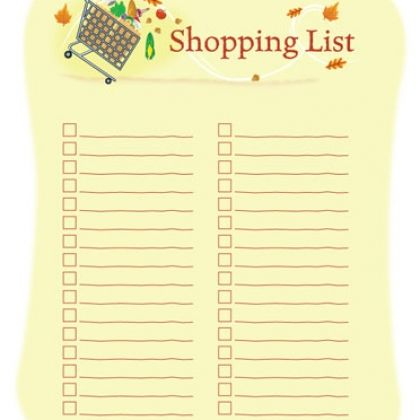 Shopping Lists Template