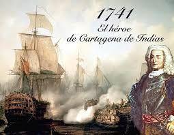 Blas de Lezo - The biggest defeat by the British Fleet under the spanish city of Cartagena de Indias. (Colombia) 1741