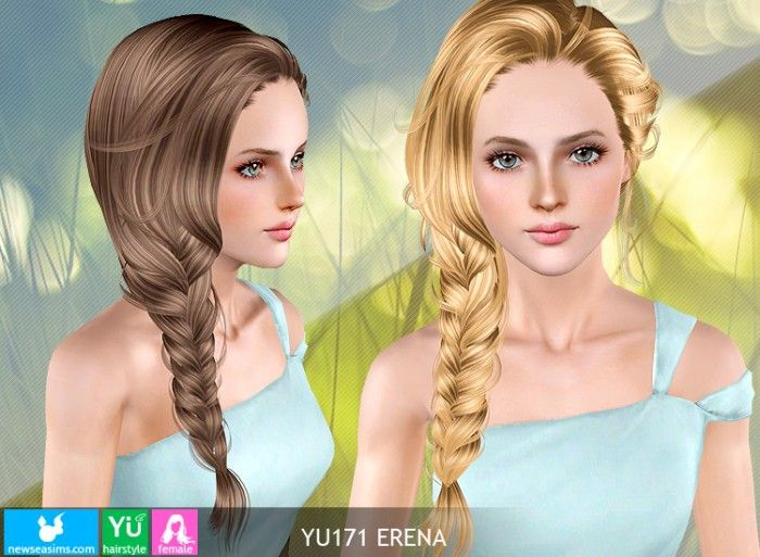 Sensational 1000 Images About Sims 3 Custom Hair On Pinterest Special Ts Short Hairstyles For Black Women Fulllsitofus