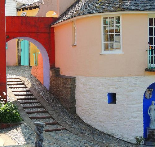 My all time favourite view of Port Meirion