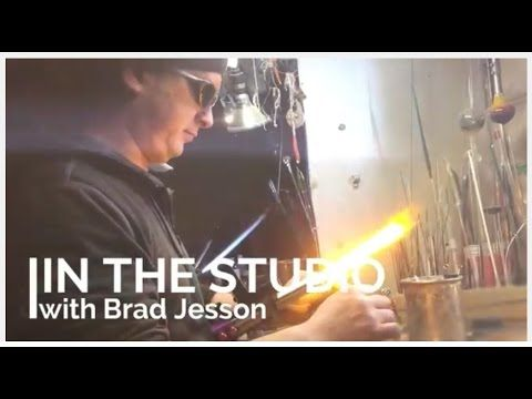 In the Studio with Flameworker Brad Jesson #Factory163