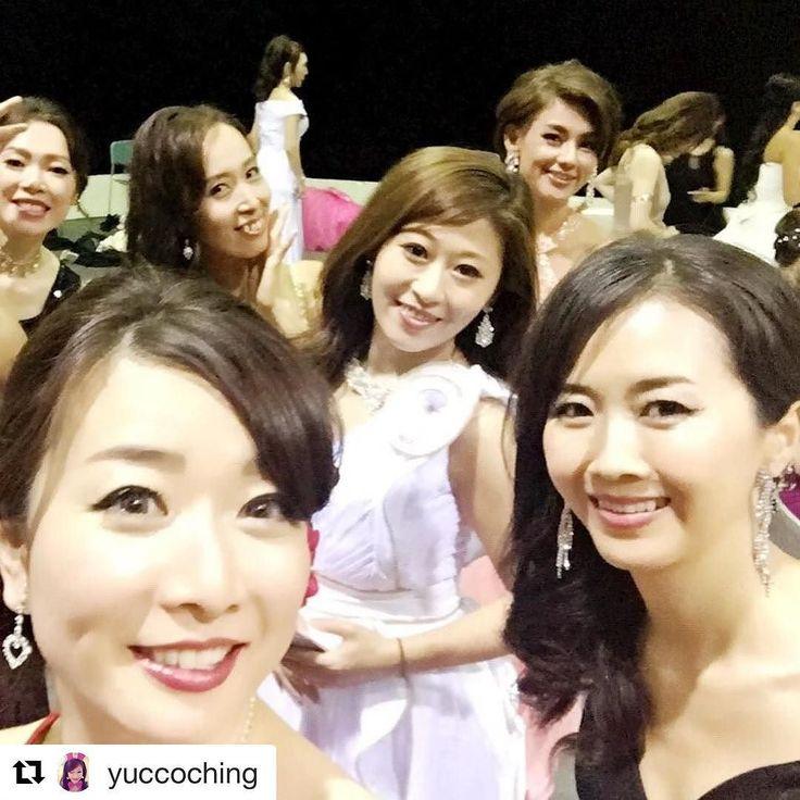 由希ちゃんありがとう  #Repost @yuccoching (@get_repost)  ミセスクイーンコンテスト2017  #ミセスクイーンコンテスト2017ファイナリスト #コンテスト#美魔女 #東京タワースタジオ #ファイナリスト