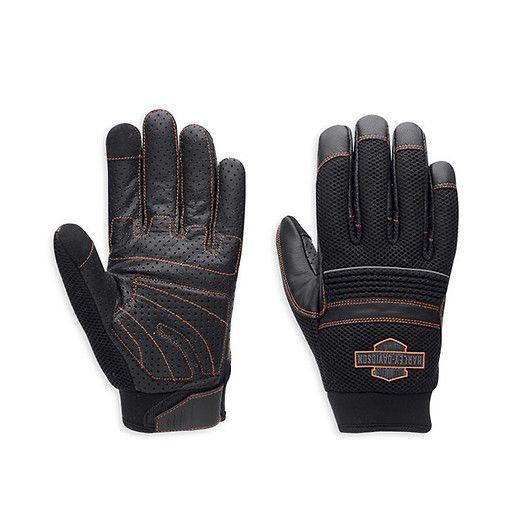 HD Rękawiczki SADDLE MESH & LEATHER. dostępne na www.Motocyklowy.pl #harley-davidson