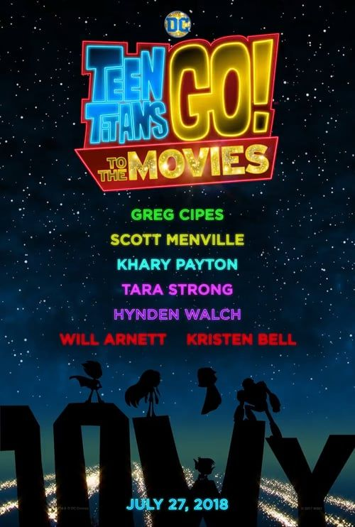 Watch->> Teen Titans GO! to the Movies 2018 Full - Movie Online