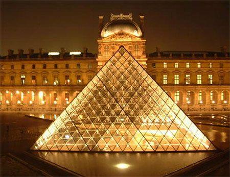 Pyramide-Louvre - Musée du Louvre #travel #wanderlust - @HauteFrugalista