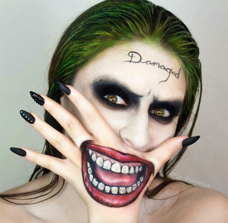 maquillaje para Halloween idea Maquillaje de joker, Maquilla