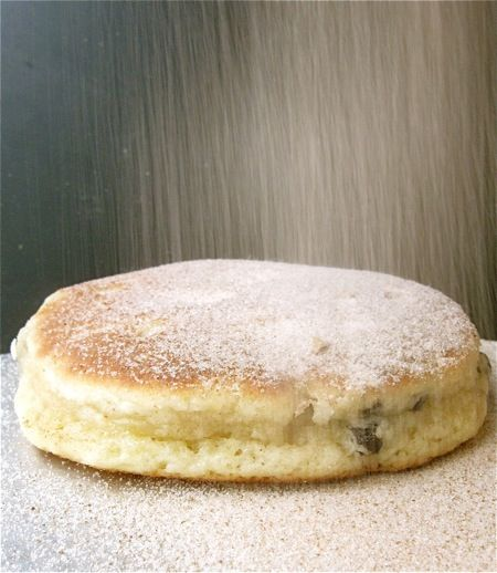 Welsh Cakes - These soft, tender cakes are a cross between a pancake and a baking powder biscuit.