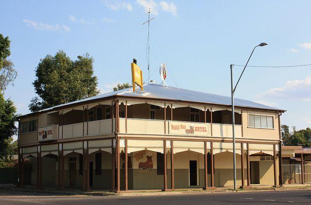Wobbly Boot Hotel, Boggabilla, NSW.
