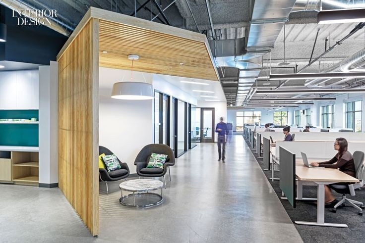 Firm: Eastlake Studio. Project: Equator Design. Location: Chicago. Standout: At a packaging design firm's graphically charged studio, walls sport mismatched picture frames...