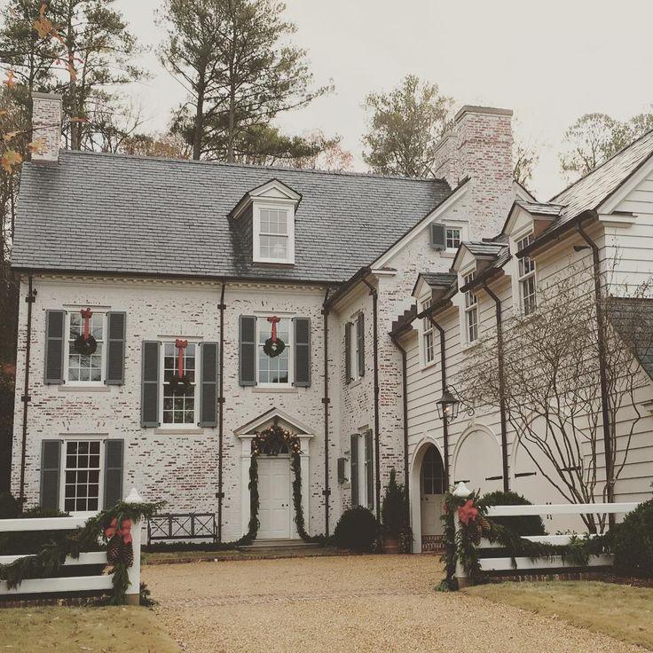 Limestone & Boxwoods - Instagram (@limestonebox) - A new house in Birmingham, Alabama designed by James Carter.