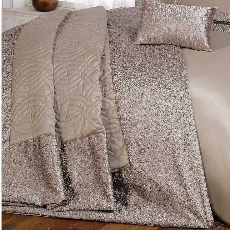 cascade home charlotte bedspread u0026 pillow shams