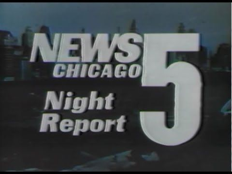 """WMAQ Channel 5 - News 5 Chicago Night Report (Opening Segment, 1972) Here's a neat superVintage clip - the first three minutes of the Channel 5 10pm News from 1972! Includes:  Station ID with voiceover """"This is WMAQ-TV, Chicago"""" by ??  Opening to the News 5 Chicago Night Report """"with Floyd Kalber, Harry Volkman, Johnny Morris, and Len O'Connor"""" (voiceover by ??) This aired on local Chicago TV on Monday, November 27th 1972 at 10:00pm!"""