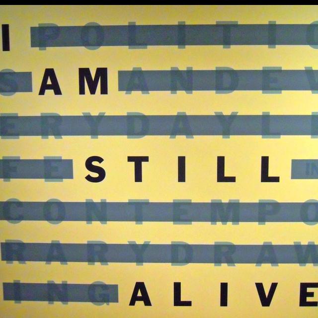 On Kawara - I AM STILL ALIVE