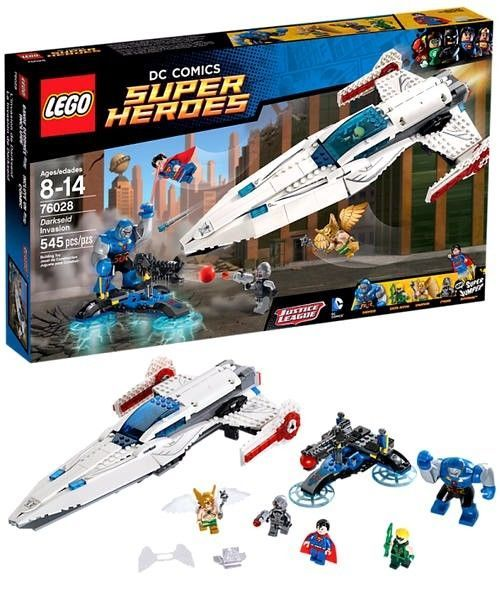 LEGO DC Comics Super Heroes_76028_Darkseid Invasion_New Sealed Set #LEGO