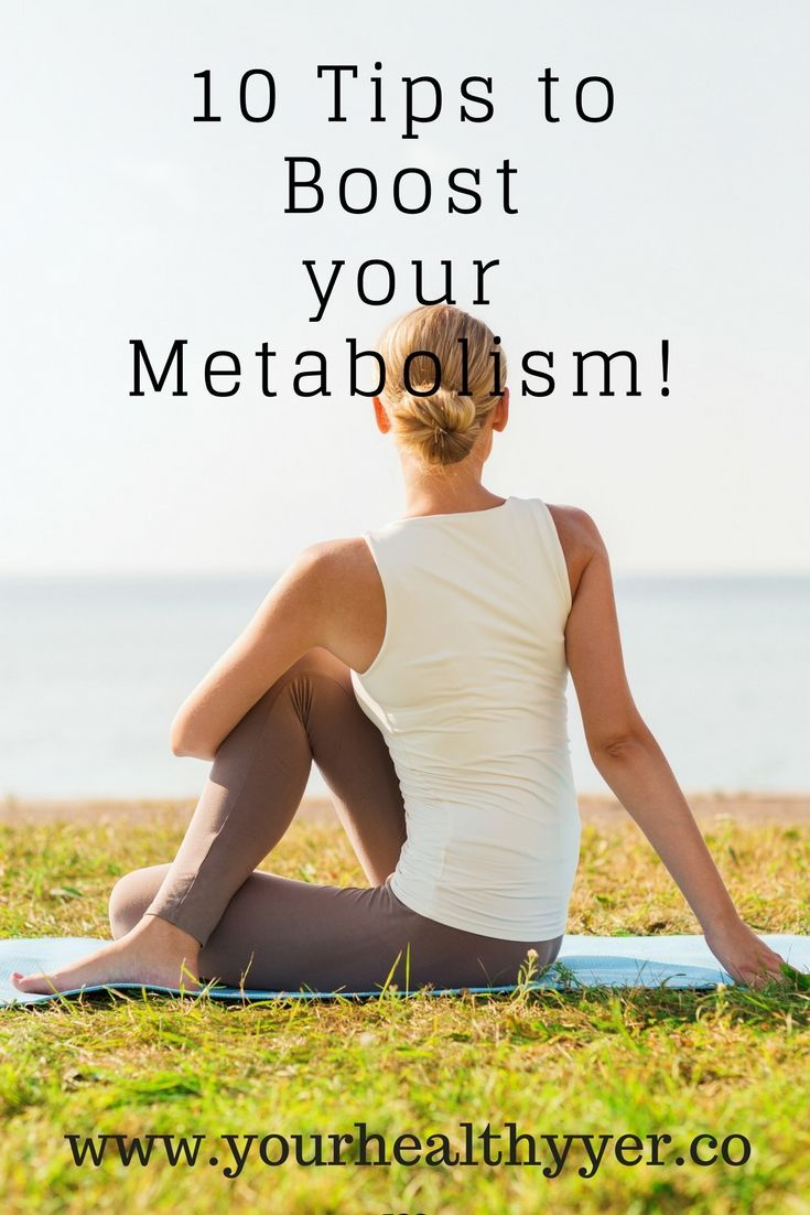 Boosting your metabolism is so important when you are trying to loose weight. Follow these ten tips and watch the pounds fall off!