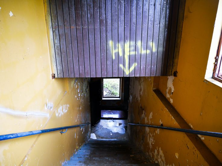 Stairwell to hell   An abandoned factory in Kokkola, Finland   travellling   ghost   paranormal  