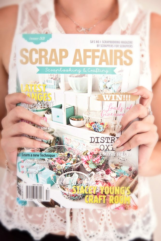 Scrap Affairs Magazine is South Africa's No. 1 scrapbooking & crafting magazine, love and passion of paper and crafts. Find Scrap Affairs Issue 53 here.