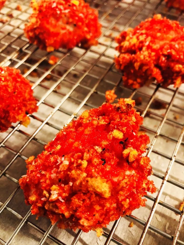 Flamin hot cheetos chicken nuggets cooks well with
