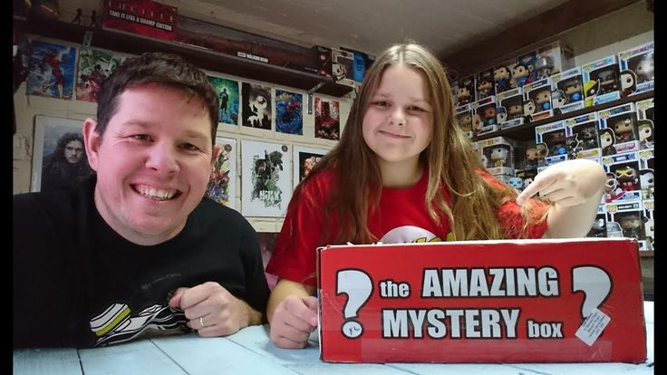 Thw Amazing Mystery Box Unboxing Review | November 2017 | Funko | Sons O...