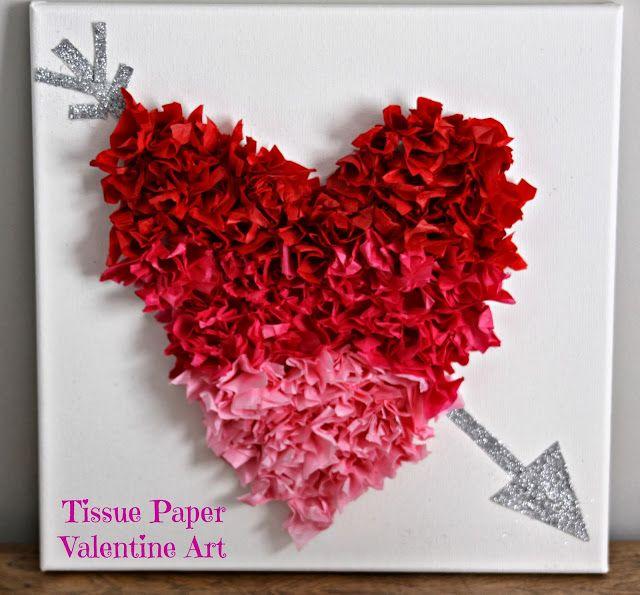 tissue+paper+valentine+art.jpg 640×595 pixels
