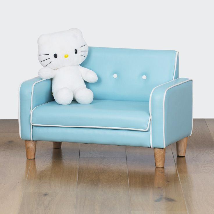 El Nino Kids Sofa - Baby Blue | $99.00