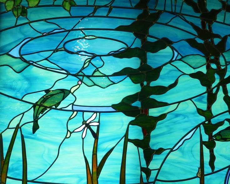 17 Best Images About Stained Glass Mountain Scenes On