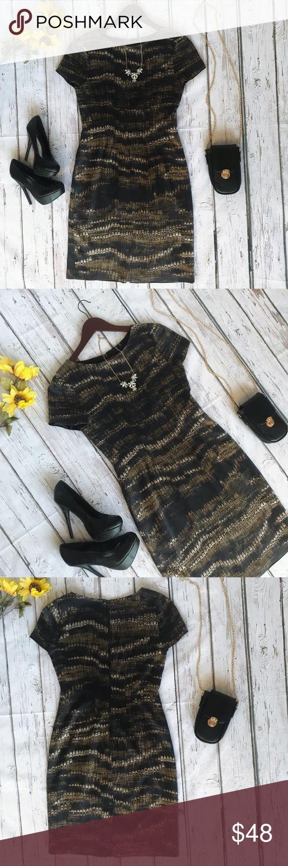 ✨Elie Tahari silk dress! Sz 4 ✨ Flawless used condition Elie Tahari 93% silk dress! Perfect for the office or a night out! 🎀✨😍 Elie Tahari Dresses Midi