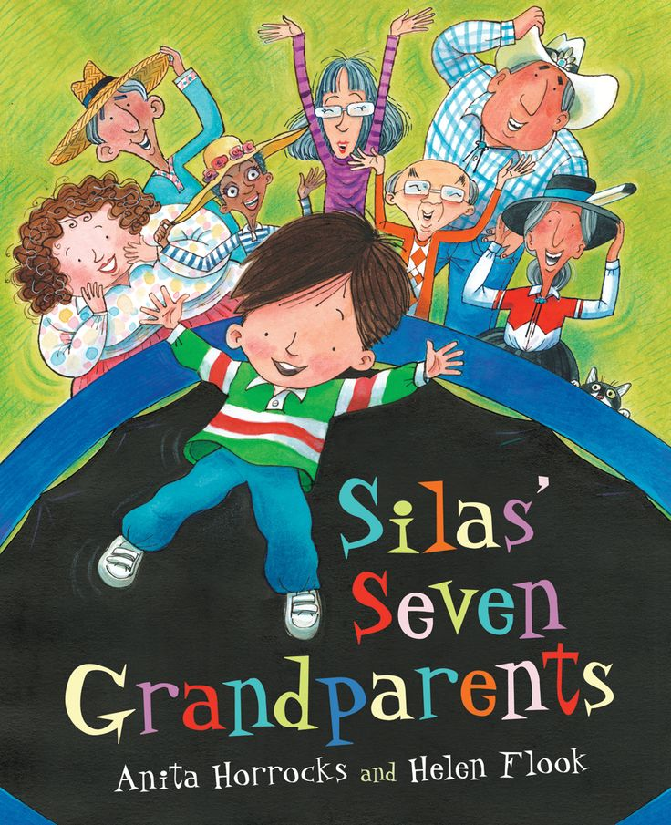 Each of Silas' seven grandparents has something special to offer. SILAS' SEVEN GRANDPARENTS by Anita Horrocks and illustrated by Helen Flook