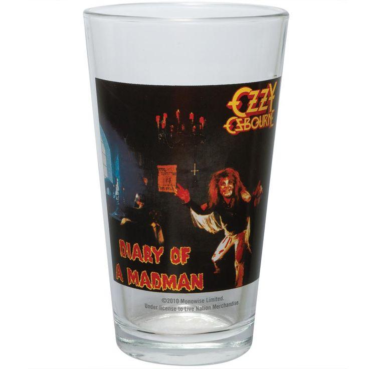 Ozzy Osbourne - Diary of a Madman Pint Glass