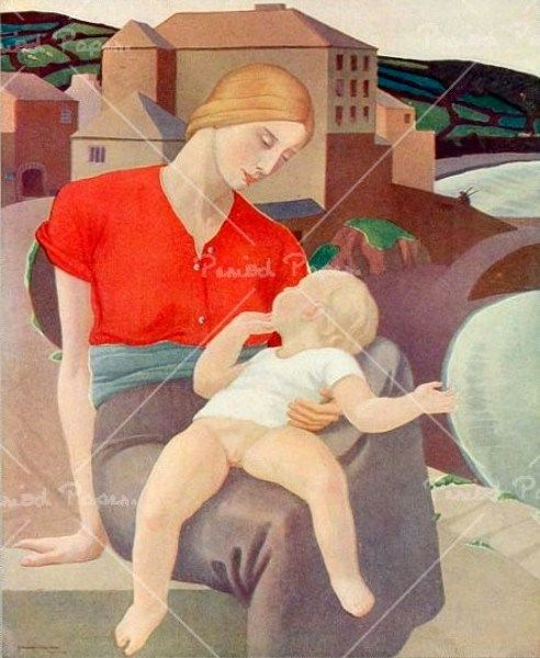 ernest procter | Ernest Procter (1886 – 1935, English) | I AM A CHILD