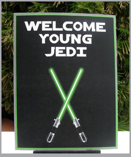 Star Wars Welcome Sign