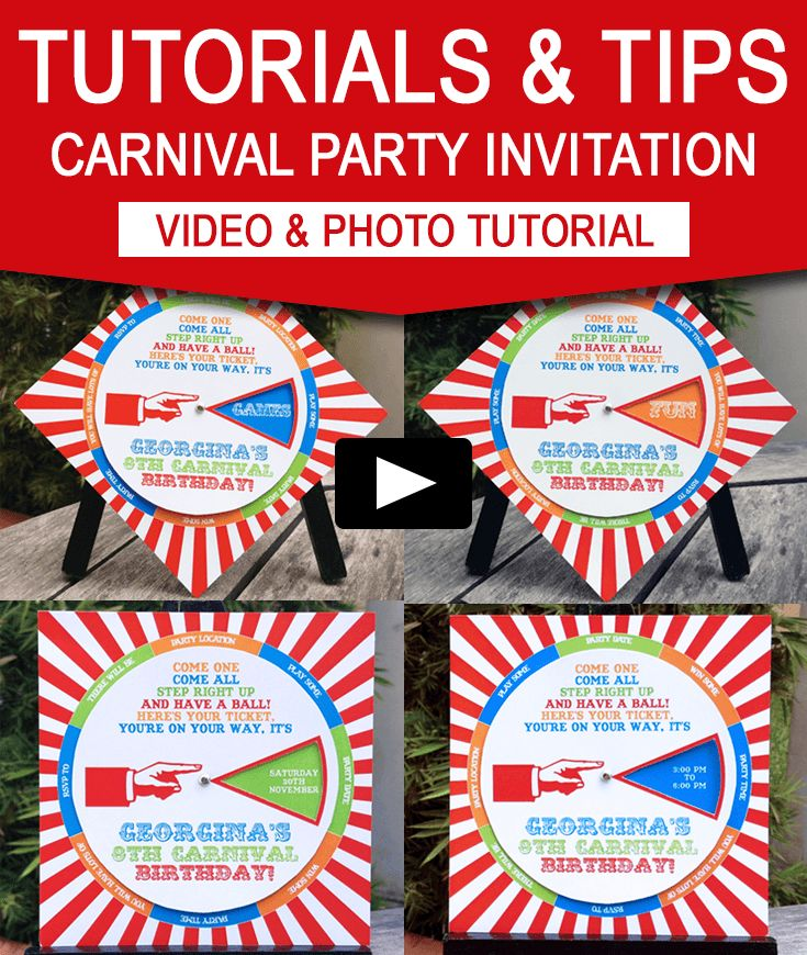 the 25+ best carnival party invitations ideas on pinterest, Party invitations