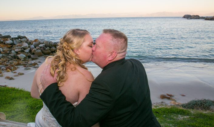 Sam and Mark tie the knot