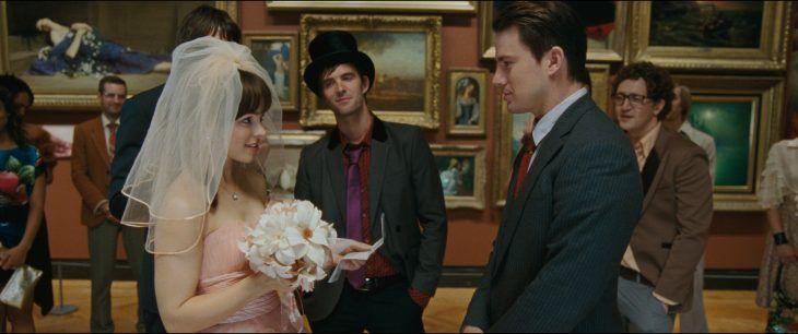 Escena de la película votos de amor en donde se casan